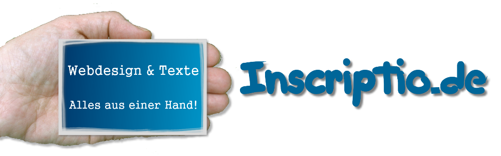 Inscriptio.de - Webdesign und Texte